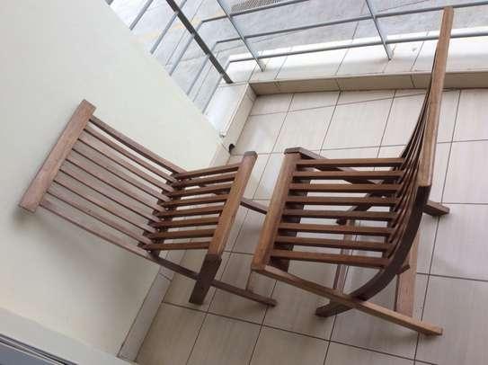 Sofa set, garden chair (2), tables (2), shoe rack, center table image 4