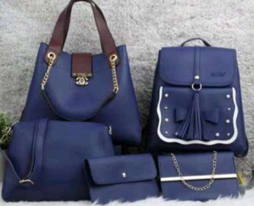 Navyblue 5 in 1 hanbags image 1