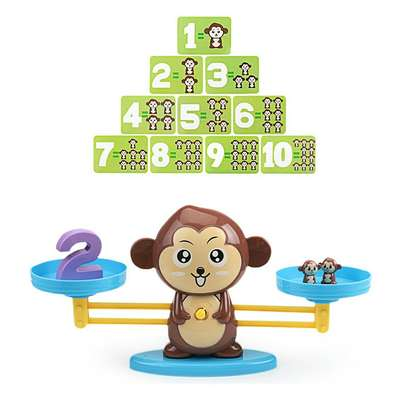 Monkey Balance Math Game for Girls Boys Educational Toys image 4