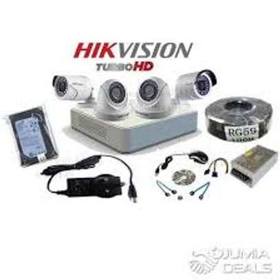 Four 4 CCTV camera Complete cameras sale image 1