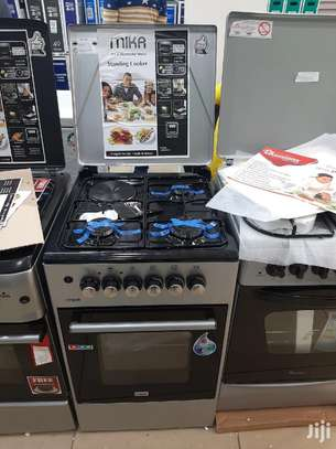 Brand New MIKA 50*50 Cooker 3gas 1electric image 1