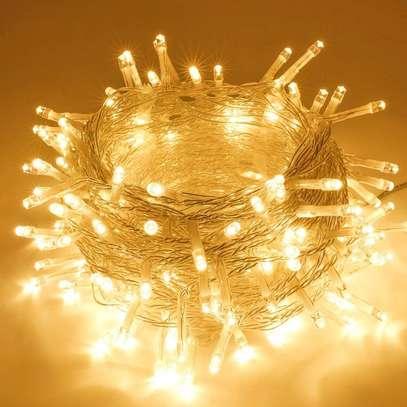 Waterproof Decorative Lights for Christmas Tree Garden Patio Bedroom (Warm White) image 1