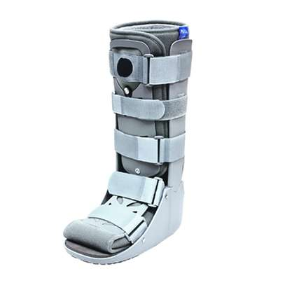 "Fixed Pneumatic Ankle walker Boot Long 17"" image 1"