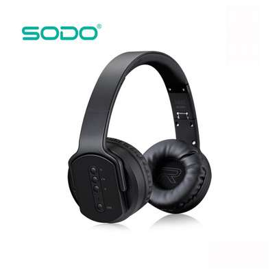 SODO MH2 Bluetooth Twist-out Speaker Headphones With NFC N Mic image 4