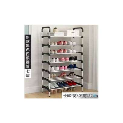 7 tier multi purpose Shoe Rack image 2