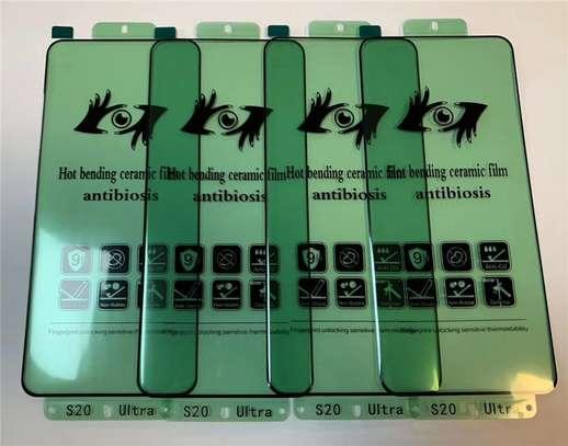 Ceramic 5D Glass Protector Flexible Anti-Break,Anti-Fingerprint for Samsung S20 S20+ S20 Ultra image 4