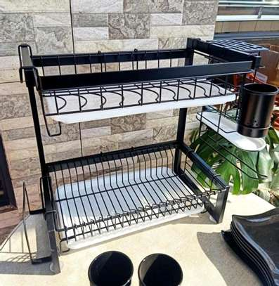 Stainless steel dish rack image 4
