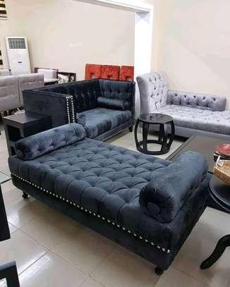Stylish Classic Modern 2 Seater Divan Sofa image 1