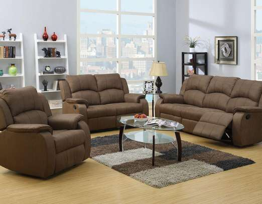6 Seater Recliner Sofa image 1