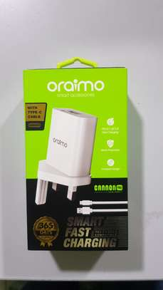 Oraimo Fast Charger Cannom Pro type C Charger image 1