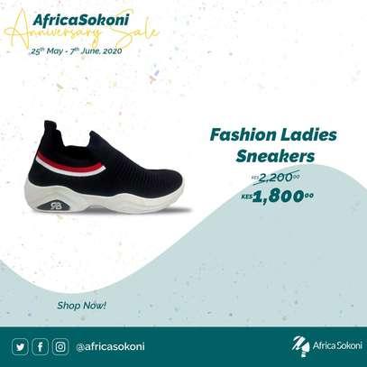 Fashion Ladies Sneakers image 1