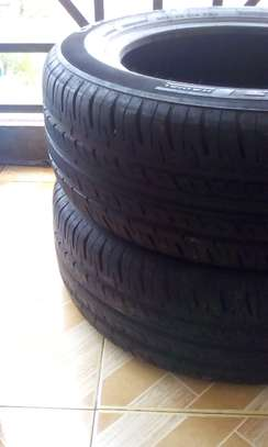 Two 205/60 R 16 92H GT Radial Tubless Tyres....Champiro Tyres image 2