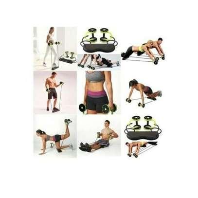 Revoflex Revoflex Extreme Exercise Roller -Green &Black image 2