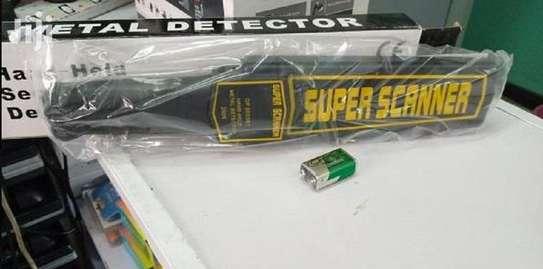 Super Scanner Metal Detector, image 1
