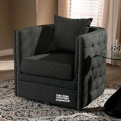 One seater sofa/single seater sofa/modern furniture/chesterfield sofas image 1