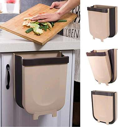 Collapsible Expandable dustbin over the shelf image 1
