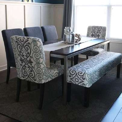 Classic six seater dining tables for sale in Nairobi Kenya/modern diningroom Dining table set/six seater dining table set image 1