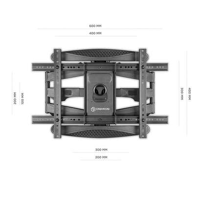 """Full Motion Articulating TV Wall Mount for 40"""" to 70 Inch Flat Screen LED LCD TVs up to 100lbs P6 image 4"""