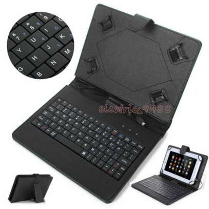 Universal Tablet Case With Micro USB Keyboard for Lenovo Tab 4 10 image 2