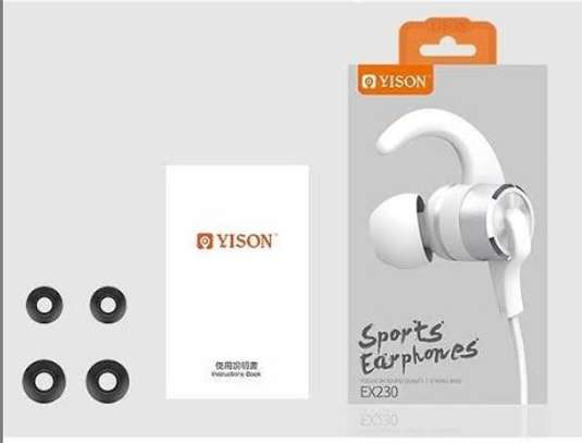 Vision wired sports earphones image 1
