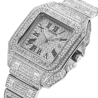 Pin Tim Iced Out Watch image 1