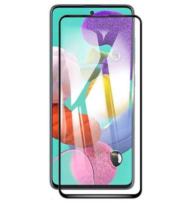 5D Full Glue Protective Tempered Glass Protector For Samsung A71 A51 image 1