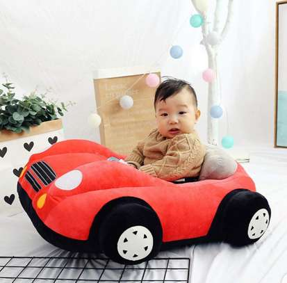 baby Car Sitting Children's Sofa,Plush Baby Sitting Learning Kid's Chair Floor seat Infant positioner Anti-Fall and Rollover Children's Furniture for Kids 3-18 Months image 5