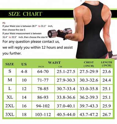 Women Slim Lift Body Shaper Tank Top Vest Weight Loss Jogger Back Pain Corset Sweat Waist Belt image 4