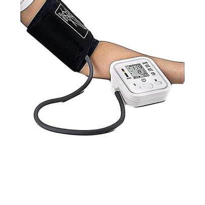 Jziki Digital Arm Blood Pressure Upper Arm Fully Automatic Monitor Heart Beat Meter image 2
