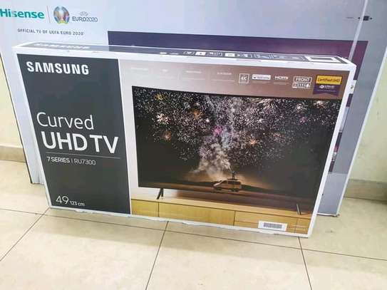 49 inch Samsung Curved Smart LED TV - Wow Deals image 1
