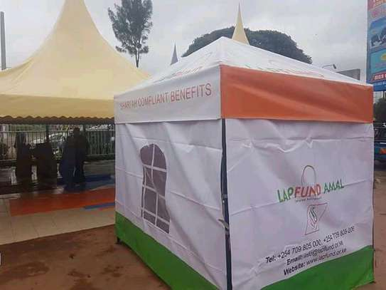 Branded tents/ outdoor tents for advertisement.