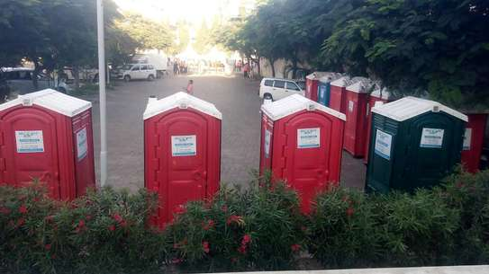 Hire of portable toilets