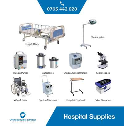 1 Crank Manual Hospital Bed  - single fold / function image 10