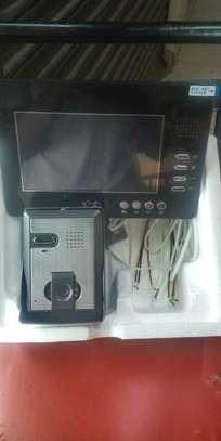 Video door phone with memory card image 1