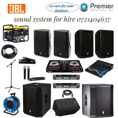 PA system for hire at you door point image 1