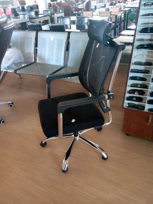 Fabric office chair image 1