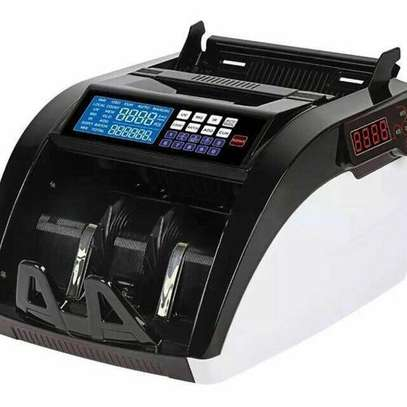 Multi Currency Cash Counting Machine with fake note detection image 1