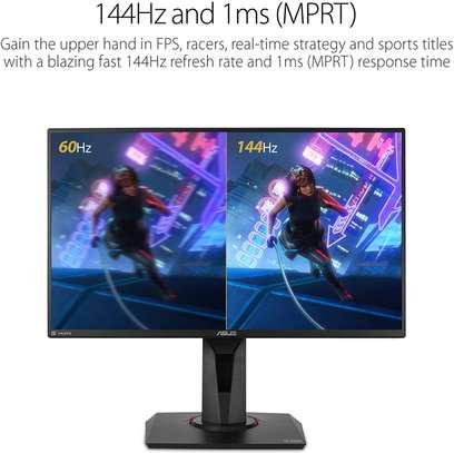 "Asus VG259Q 24.5"" Gaming Monitor 144Hz Full HD (1920 X 1080) 1ms IPS Elmb FreeSync Eye Care DisplayPort HDMI image 2"