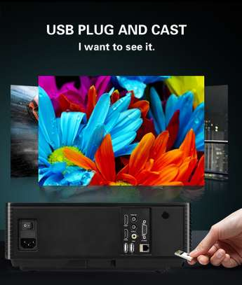 Smart TV Android Projector FHD supports 4K 3D  3,200 lumens image 8
