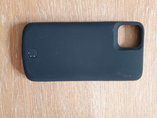 Power Case 6000mAh Battery Charger Case For iPhone 11  External Power Bank Charging Cover image 2