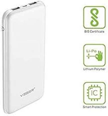 VEGER V18 22000MAH SLIM PLASTIC POWER BANK FOR SMART PHONES image 1