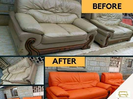 Repair/Reupholstery of Recliner sofas(Imported) image 6