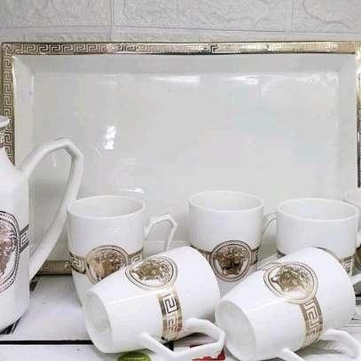 Ceramic coffee/tea set image 1