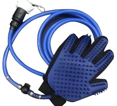 Pet Grooming Glove / Massage Glove  2-in-1 image 1