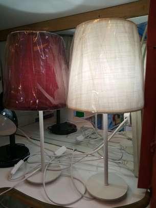 Bedside lampshades image 1