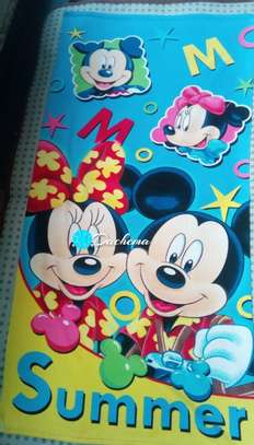 mickey mouse kids bathing towels image 1