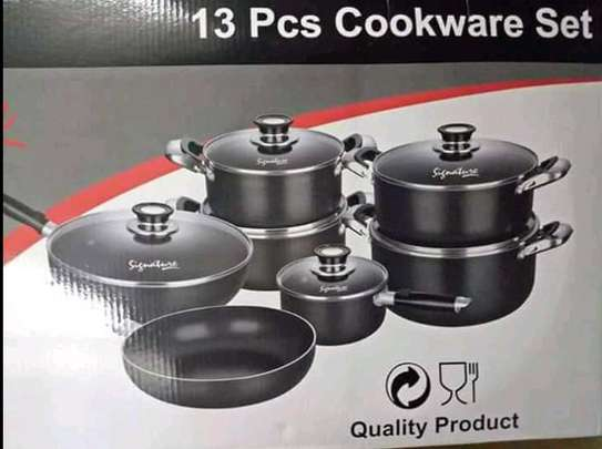 13 Piece Non Stick signature cookware