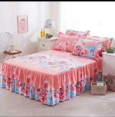 Cotton bedskirts image 2