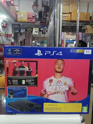 Sony PlayStation 4 Slim, 1 TB, 2 Controllers, With FIFA 20 image 4
