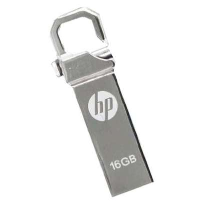 Flash Disk USB Drive With Clip - Silver